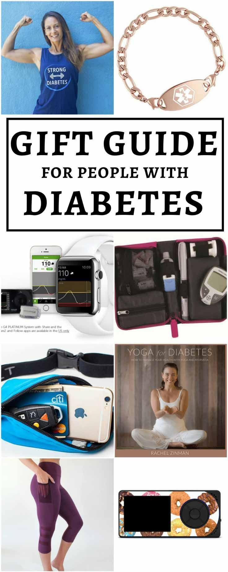 The best gifts for diabetics! Diabetes accessories, gadgets, clothing, books, se...