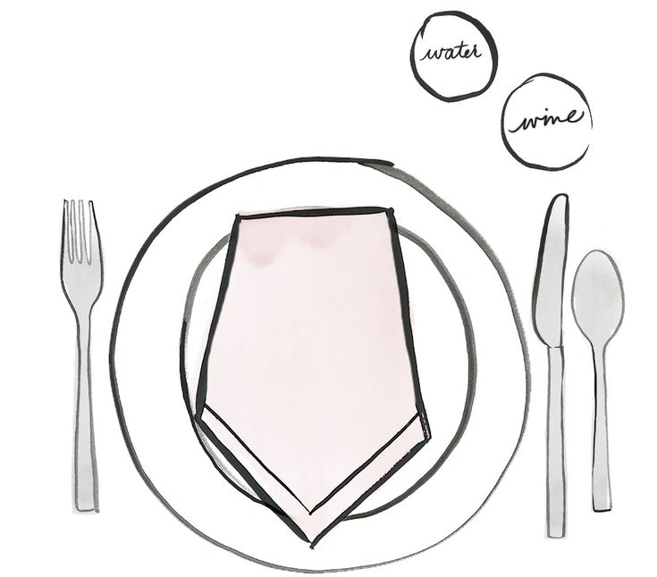 A table setting cheat sheet casual cheat sheets and for Casual dinner table setting ideas
