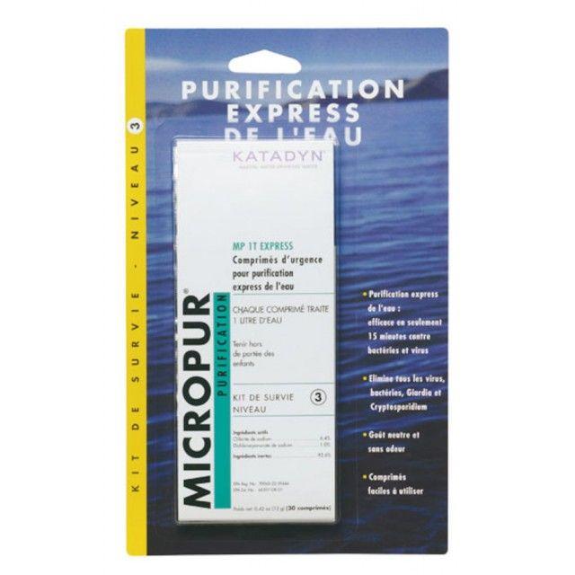 MICROPUR PURIFICATION TABLETS KATADYN - 8014018