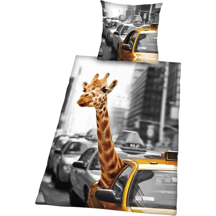Giraffe New York -pussilakanasetti