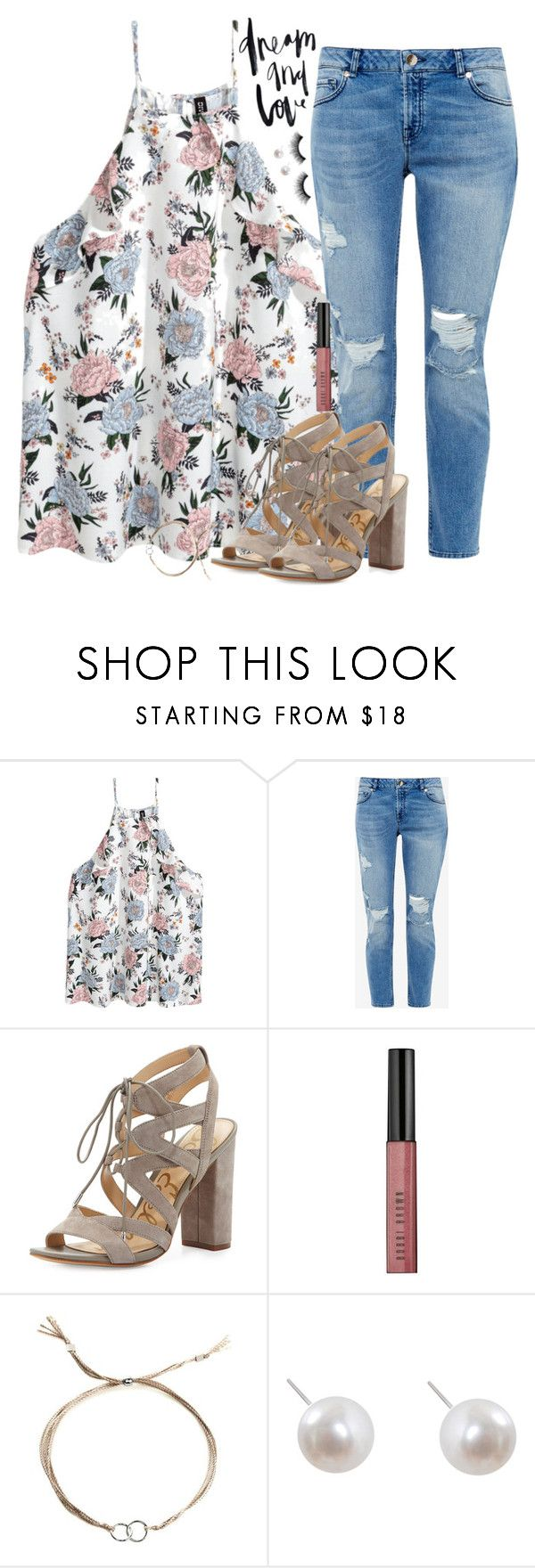 """Yeah I want summa"" by southernstruttin ❤ liked on Polyvore featuring Ted Baker, Sam Edelman, Bobbi Brown Cosmetics, Dogeared, Humble Chic and Urban Decay"