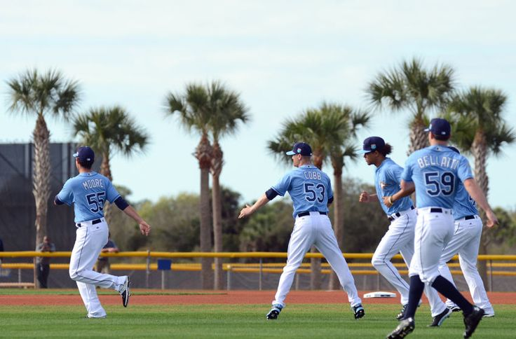 Tampa Bay Rays: Trucks Head for Spring Training