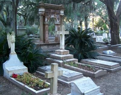 Savannah's most famous and hauntingly beautiful,  Bonaventure Cemetery