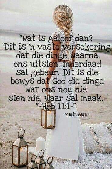 Wat is geloof dan?                                                       …