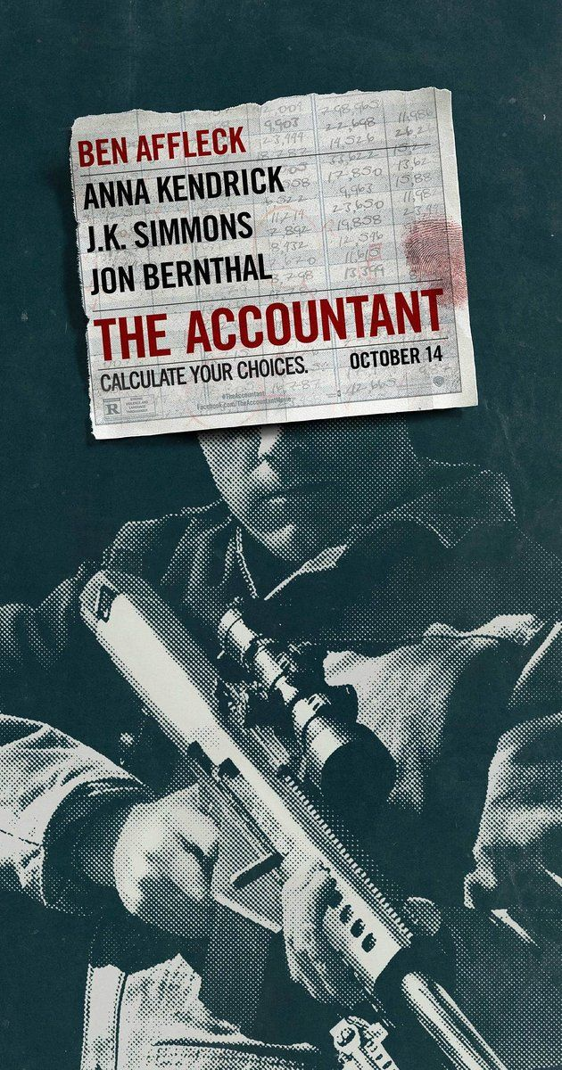 Directed by Gavin O'Connor.  With Ben Affleck, Anna Kendrick, J.K. Simmons, Jon Bernthal. As a math savant uncooks the books for a new client, the Treasury Department closes in on his activities and the body count starts to rise.