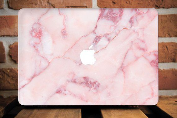 Pink Marble MacBook Air 13 Stone Cover MacBook Pro 15 Cover MacBook Pro Case MacBook Pro Retina 15 Cover MacBook 12 Laptop Hard WCM2206