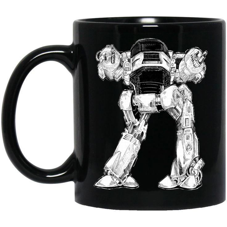 10 SECONDS TO COMPLY BM11OZ 11 oz. Black Mug