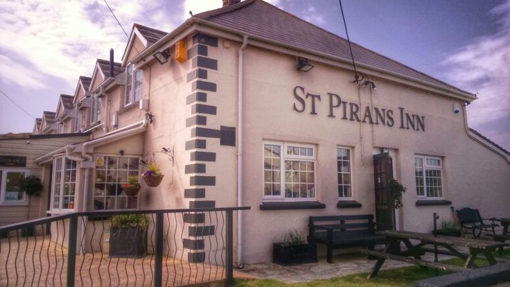 St Pirians Inn Holywell Bay nr Newquay by MM