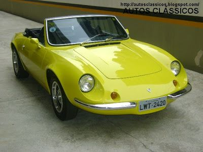 Puma conversível, um clássico dos anos 70.