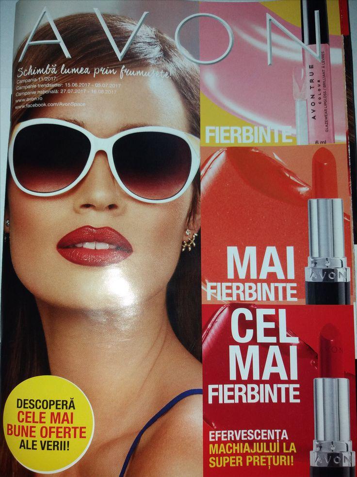 Catalog Avon Campania 11 2017 cu oferte valabile 27 Iulie - 16 August 2017! Oferte: ruj True Colour 12,99 lei; mascara pentru volum mark. Big & False Lash
