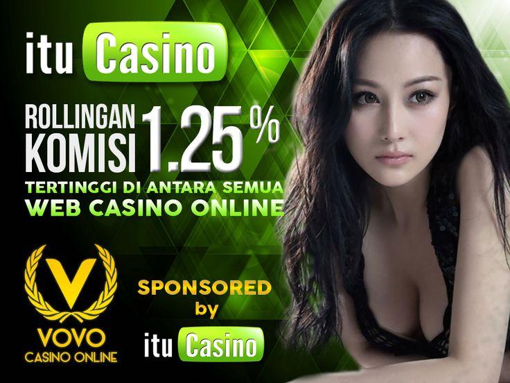 promo akhir tahun www.itucasino.net memberikan komisi rollingan sebesar 1.25% pada produk vovo388 komisi rollingan tertinggi diantara produk casino online lainya,dan komisi akan diberikan setiap minggunya teman-teman     ayo segera bergabung bersama www.itucasino.net  pendaftaran tidak dipunggut biaya apapun(Gratis),    link alternatif itucasino :    -bit.ly/itucasino  -www.itucasino.biz    informasi lebih lanjut :   pin bb : 2B2EC556  Ym : itucasino_cs  Terima kasih