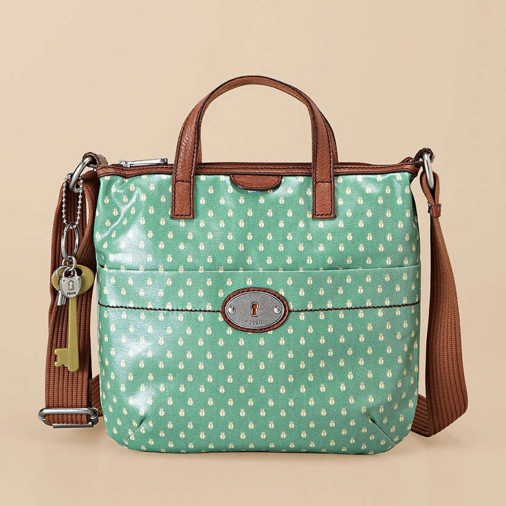 Just found my new love for fossil bags.