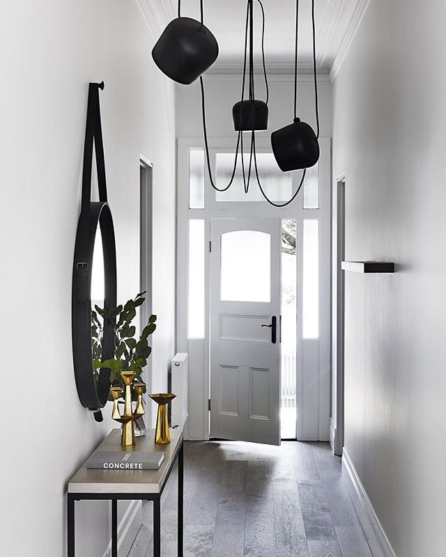 // Our FAVOURITE HALLWAY in all of Melbourne ...possibly Australia + all of Oceania too! ;) @mimdesignstudio. With thanks, photo by @sharyncairns. Team DS. X #designstuff #interiors #hallway #hallwaystyling #hallwayinspiration #melbourne #australianinteriors #australianinteriordesign #mimdesign #mimdesignresidential #gubi #flos #flosaim #tomdixon #brass #brasslove