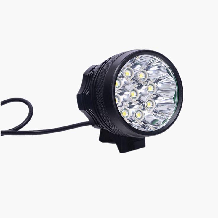 12000 Lumen 9x XM-L T6 Fiets LED Fiets Licht LED Zaklamp Voor Fiets