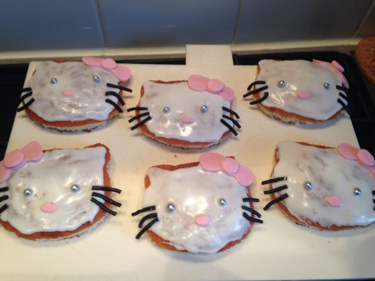 Hello Kitty eierkoek