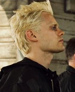 I had a dream about blonde Jared Leto last night, probably cause I watched Fight Club before bed.
