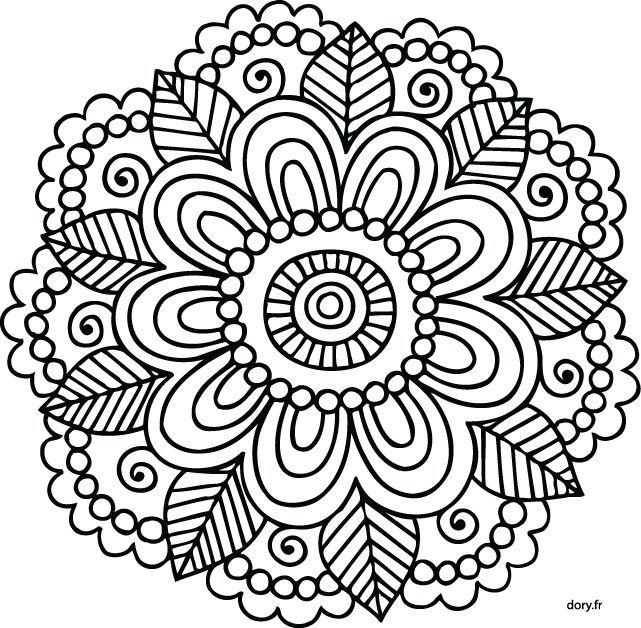 Les 25 Meilleures Id Es De La Cat Gorie Coloriage Mandala Facile Sur Pinterest Facile Mandala