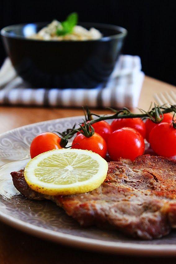 Cozinhadaduxa: Febras de Porco Preto com Arroz Aromático