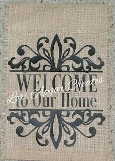 Sheu0027s A Sassy Lady: Welcome Garden Flags