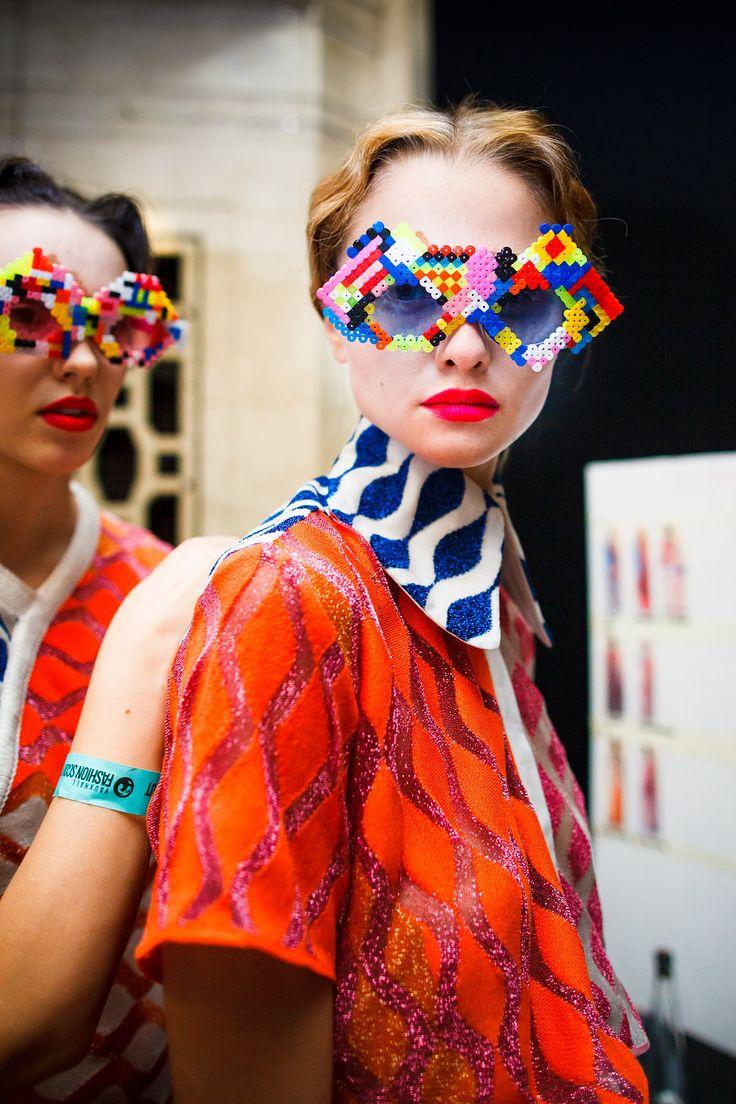 Kris Atomic   London Fashion Week   Leutton Postle