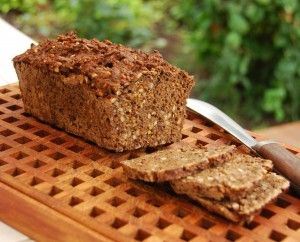 Rugbrød, recipe in English with detailed instructions from Lynn Andersen's Modern Danish Cooking.