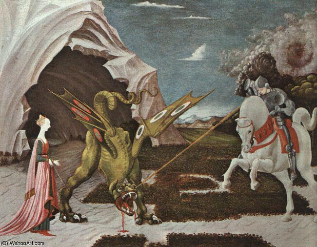 'Uccello, Paolo)', 1395 de Paolo Uccello (1397-1475, Italy)