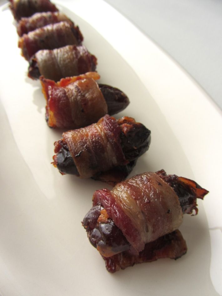 Bacon wrapped dates goat cheese in Sydney