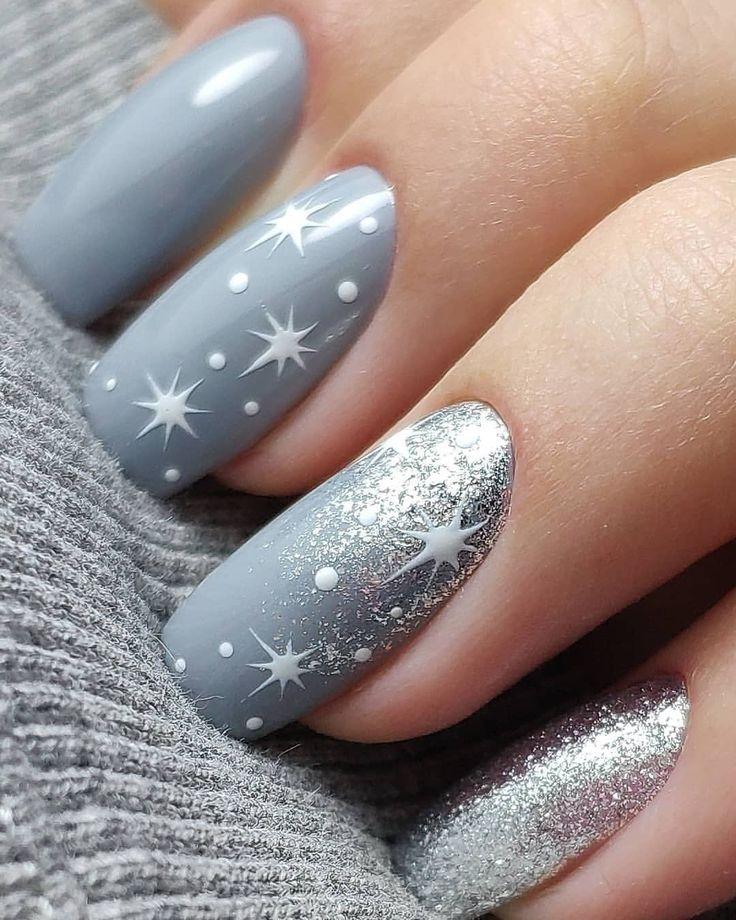 красивый дизайн ногтей зима фото сохраните влажность глины