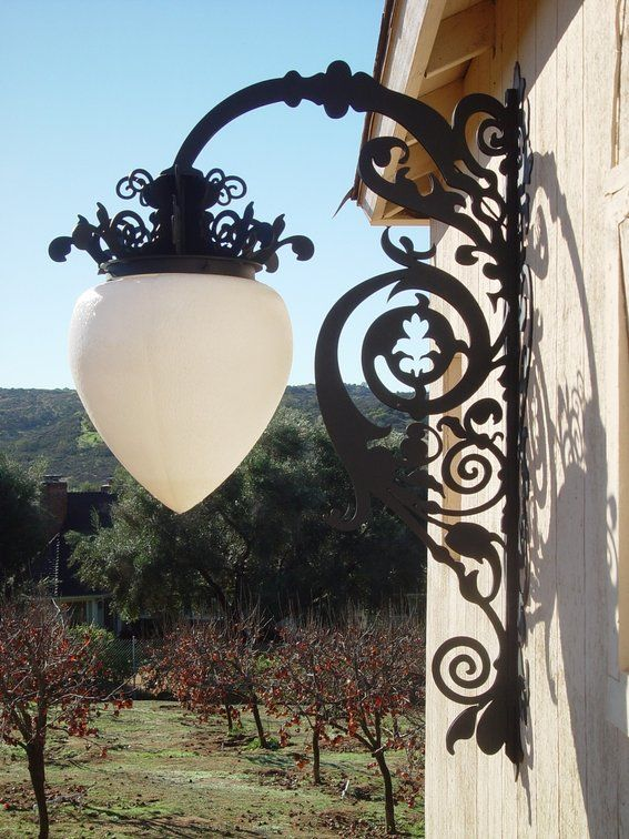 plasma cutting projects | Hand Crafted Plasma cut and fabricated Street Lights by Green Tree ...
