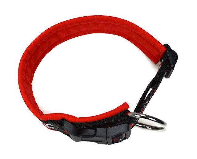 Schritt für Schritt Anleitung für ein Halsband mit integrierter Zugentlastung und Softshellpolsterung. (anfängertauglich und bebildert)