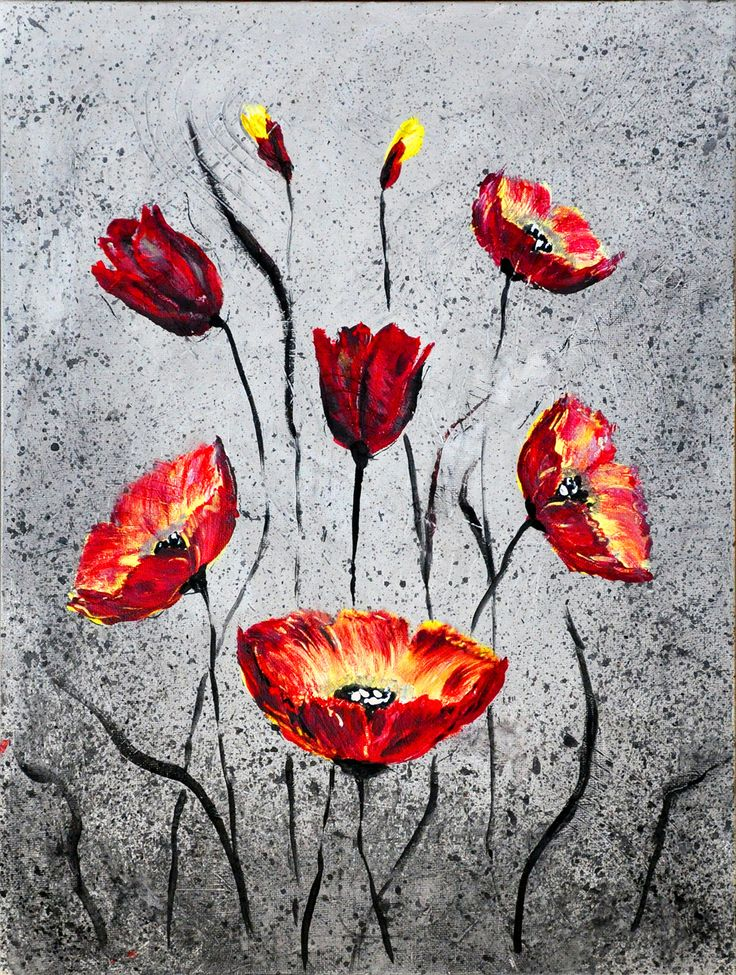POPPIES III BY TATIANA LOPATINA.  VISIT OUR WEBSITE FOR MORE GREAT IMAGES www.lailas.com