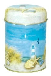 "DOSE ""SOMMERSTRAND"" 100G #Lighthouse #Leuchtturm #Strand #beach"