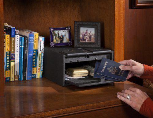 Quick Access Fingerprint Gun Safe Biometric Lock Cabinet Security Vault
