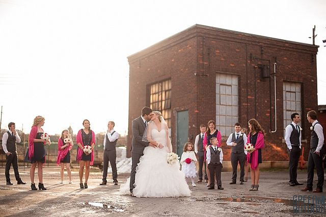 Liuna Station Hamilton Wedding by GreenAutumn Photography. Wedding photos shot at 270 Sherman.