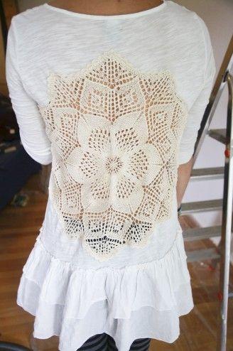 DIY shirt makeover: HOW!!!!!!