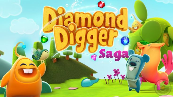 """Diamond Digger Saga"" from the makers of Candy Crush Saga & Farm Heroes Saga! - https://www.youtube.com/watch?v=gFLspcDfhhs  #diamond #digger #saga #candy #crush #iOS #iphonegames #igv   like this video? Then Repin it! Follow us [http://www.pinterest.com/igamesview/] today for latest iOS gameplays,Games of the week/month, Reviews, Previews, Trailers, Cheat Code, walkthroughs & more."