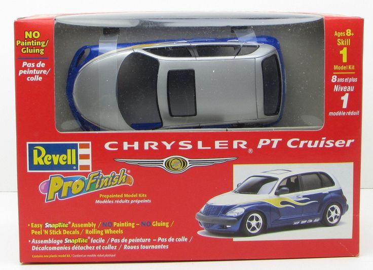 Revell Chrysler PT Cruiser 1/25 85-1356 New Plastic Model Car Kit Snap Together