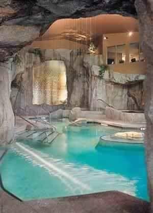 Underground pool!! Awesome basement!