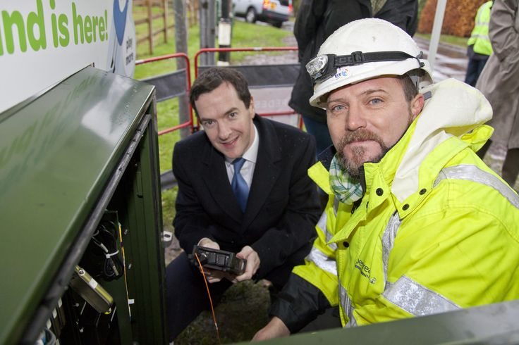 Connecting Cheshire George Osborne MP visit