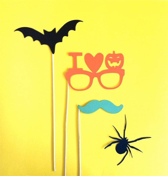 Halloween Photo Booth Props Halloween by CreativeButterflyXOX, $9.95