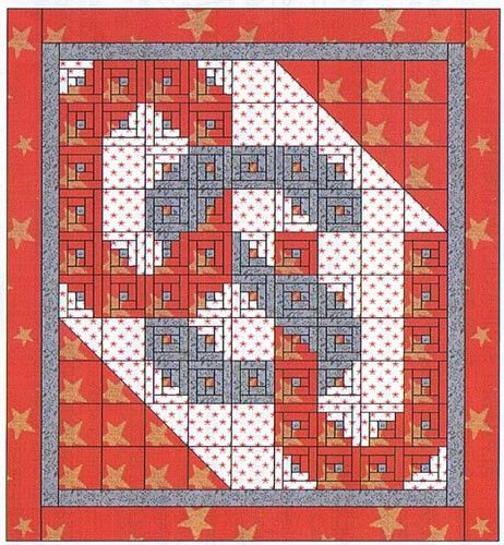 Ohio State University Quilt Pattern, Alphabet Soup by AD Designs