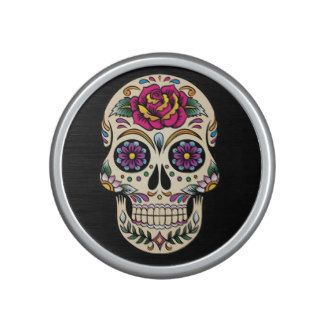 Day of the Dead Sugar Skull with Rose Speaker  http://weloveproducts.co.uk/?cat=24