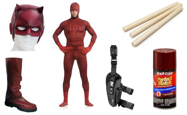 Daredevil Costume | DIY Guides for Cosplay & Halloween