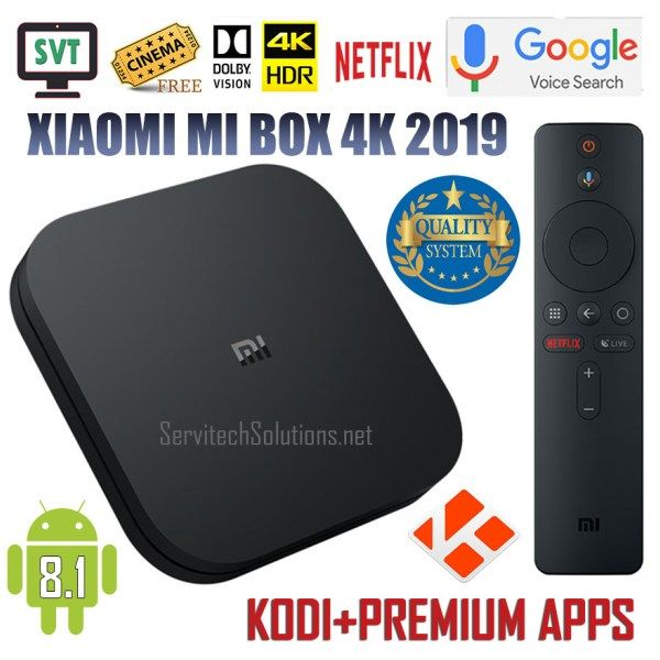 Xiaomi android tv mi box s 4k 2019 jailbroken unlocked fully