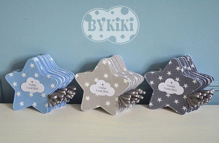 ballotins de dragées en forme d'étoile couleurs assorties : Autres bébé par bykiki