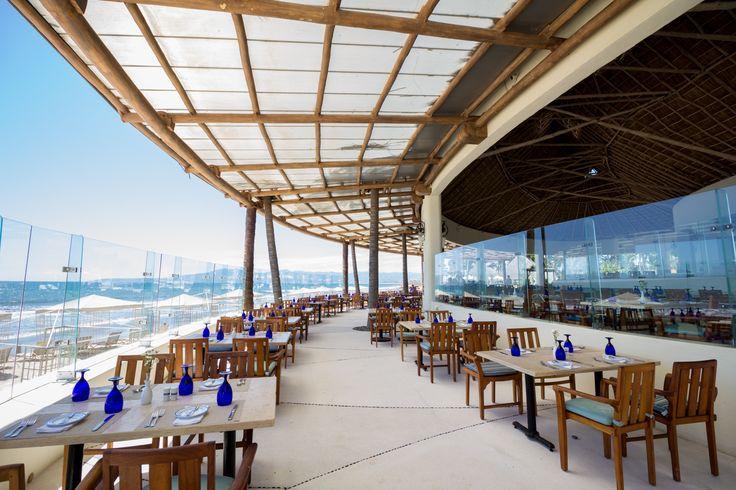 View at the Azul Restaurant. Grand Velas Riviera Nayarit