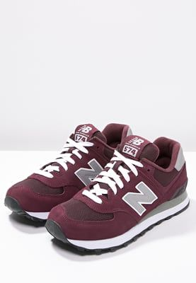 New Balance M574 - Zapatillas - burgundy - Zalando.es