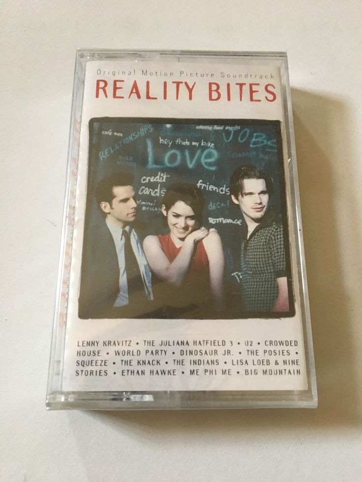 Reality Bites: Motion Picture Soundtrack 1993 Factory Sealed New Cassette Tape  | eBay