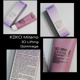 MichelaIsMyName: KIKO Milano 3D Lifting Gommage REVIEW