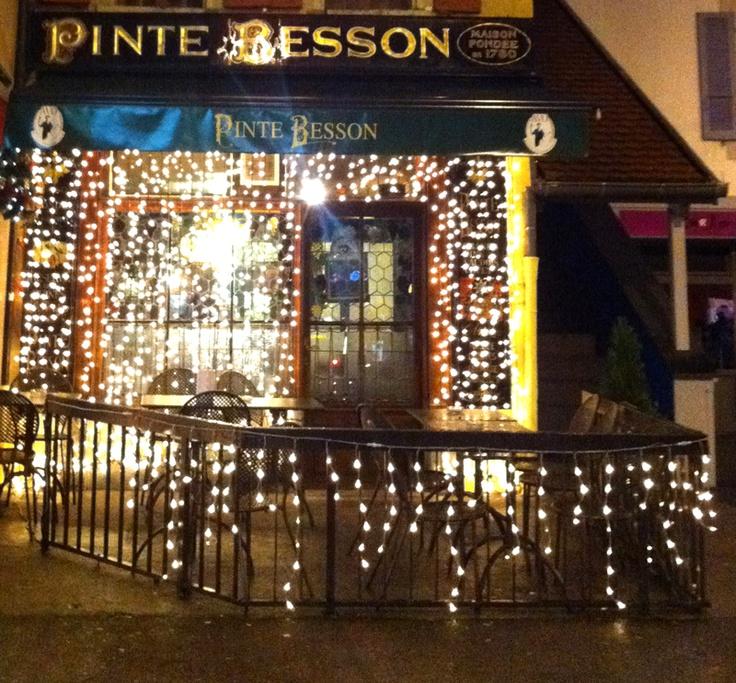 La Pinte Besson  Rue de l'Ale 4  glass of local chasselas or Plant Robert comes as a pleasant surprise